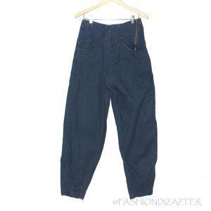 VTG High Waist tapered carrot leg jeans  8/10 fit